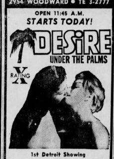 Desire Under the Palms 1968 hd izle
